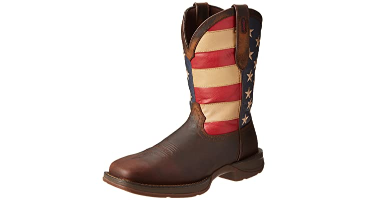 Durango Rebel Patriotic Pull-On Western Flag Boot Reviews