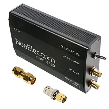 Ham It Up Plus - HF/MF/LF/VLF/ULF Upconverter w/TCXO & Separate Noise  Source Circuit  Fully Assembled in Custom Metal Enclosure  Extends The  Frequency