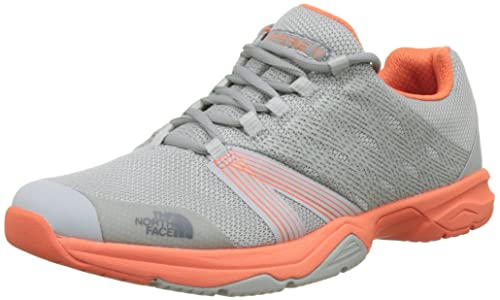 The North Face Litewave Ampere II, Zapatillas de Running para Mujer, Varios Colores (TNF Black/TNF White), 36 EU