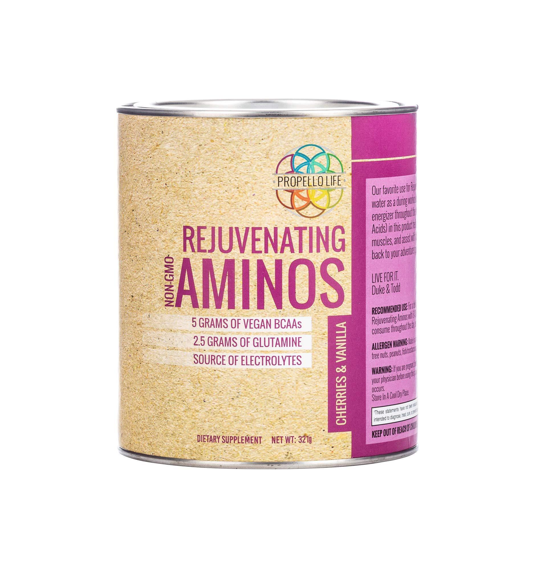 Propello Life Rejuvenating Aminos, Cherries and Vanilla, 321 Grams