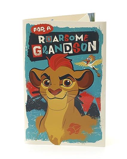 Carlton 788957-0-1 - Tarjeta de cumpleaños para nieto ...