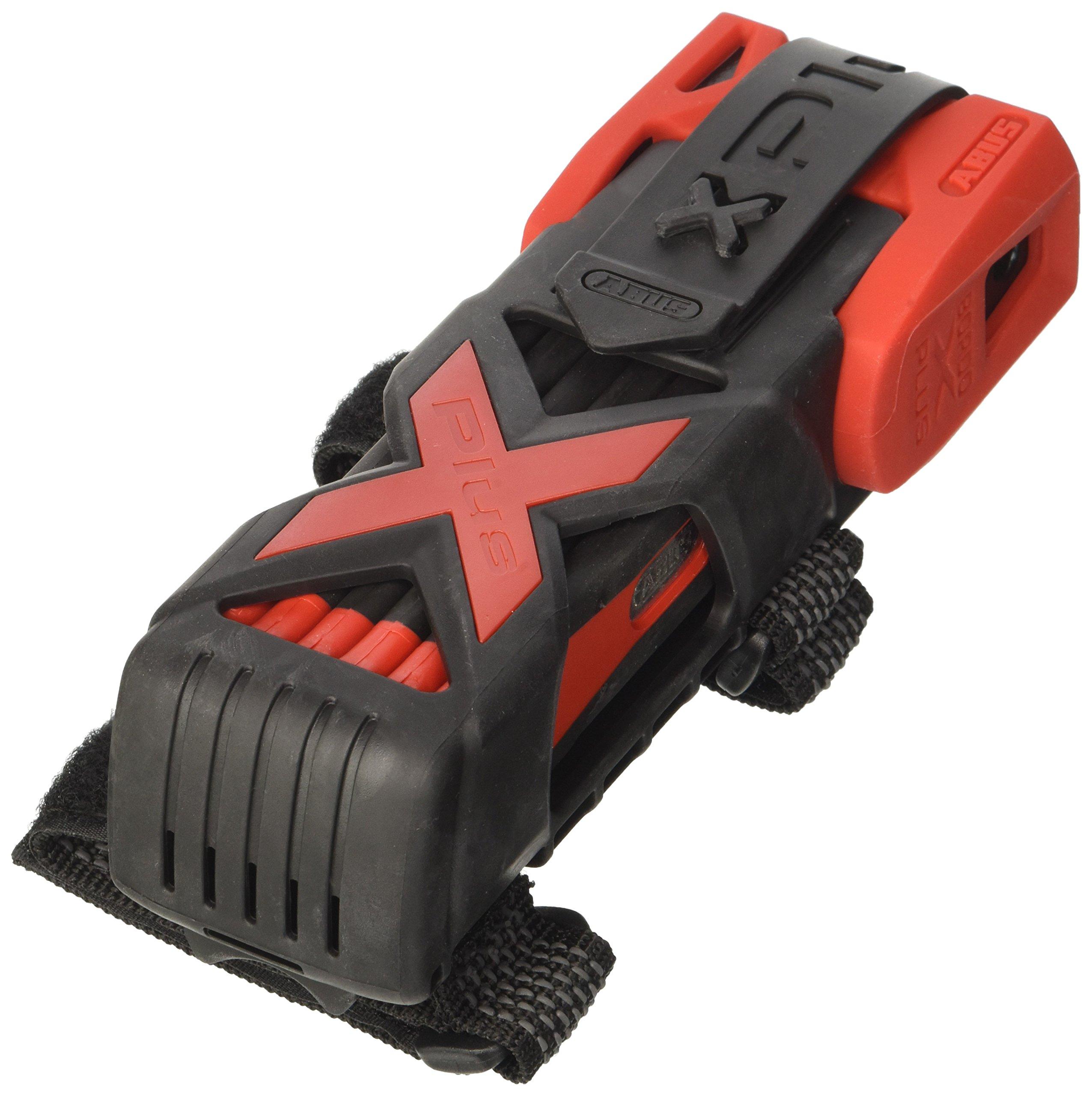 Abus Bordo GRANIT X Plus 6500/85cm (33.46 in) red - Folding lock, Bike lock, Security level 15