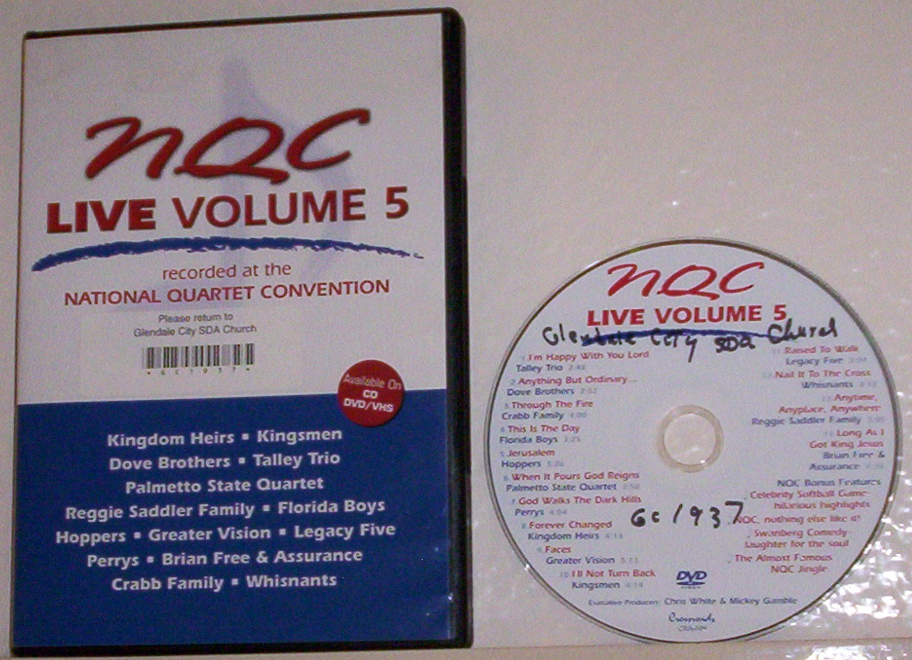 NQC Live!: Recorded at the National Quartet Convention, Vol. 5
