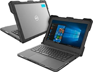 GumDrop Droptech Case Designed for Dell Latitude 3300 Education Edition 13-inch Laptop for K-12 Students, Teachers and Kids - Black, Lightweight, Shock Absorbing, Rugged, Extreme Drop Protection