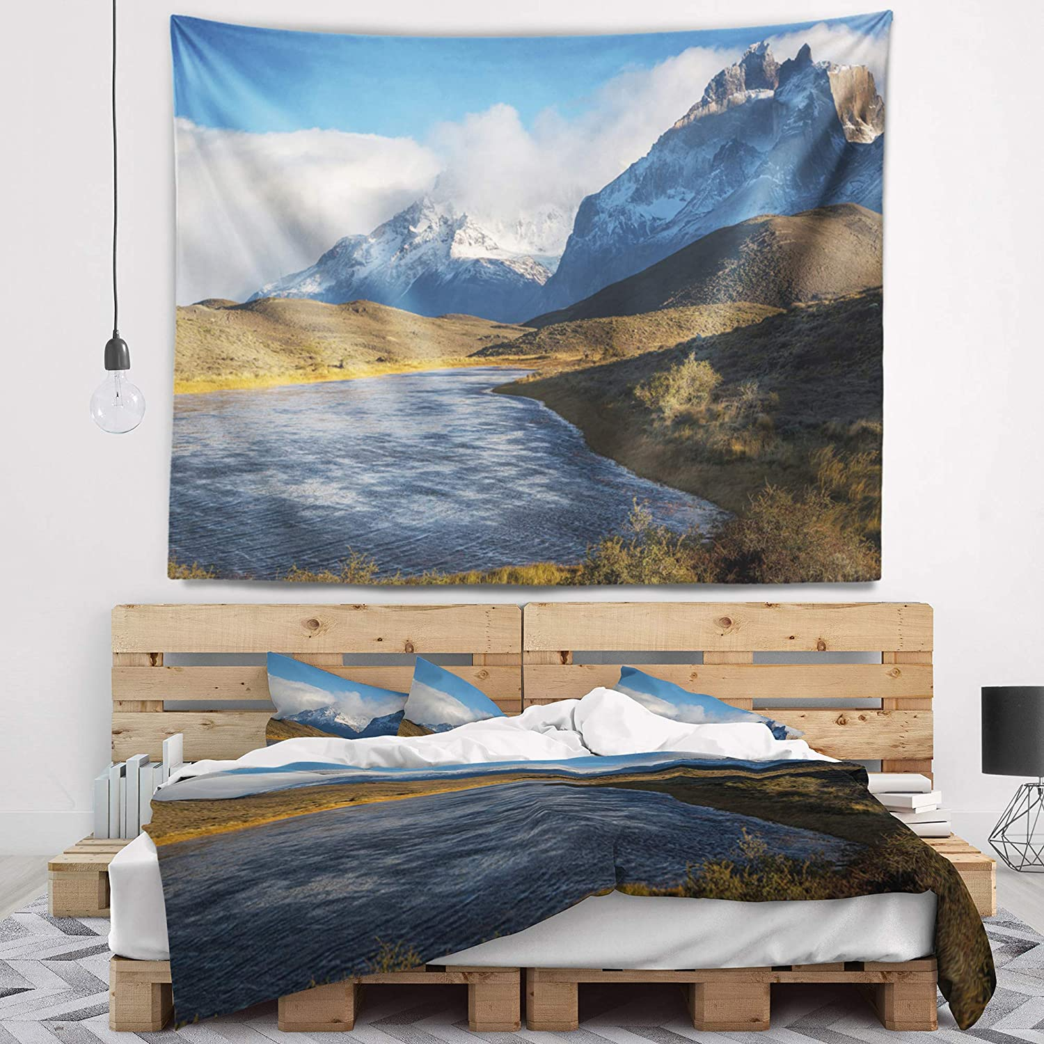 Created On Lightweight Polyester Fabric x 32 in 39 in Designart ...