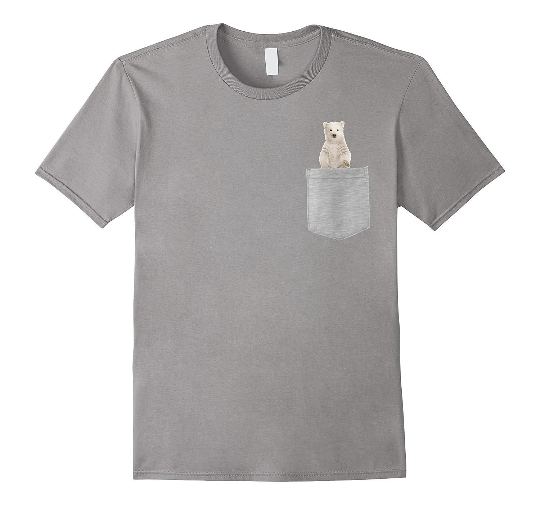 Animal in Your Pocket Polar bear cub, t-shirt-T-Shirt
