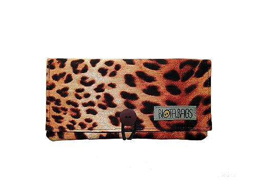 Tabaquera leopardo, Funda tabaco de liar de tela, Estuche para tabaco, Pitillera: Amazon.es: Handmade