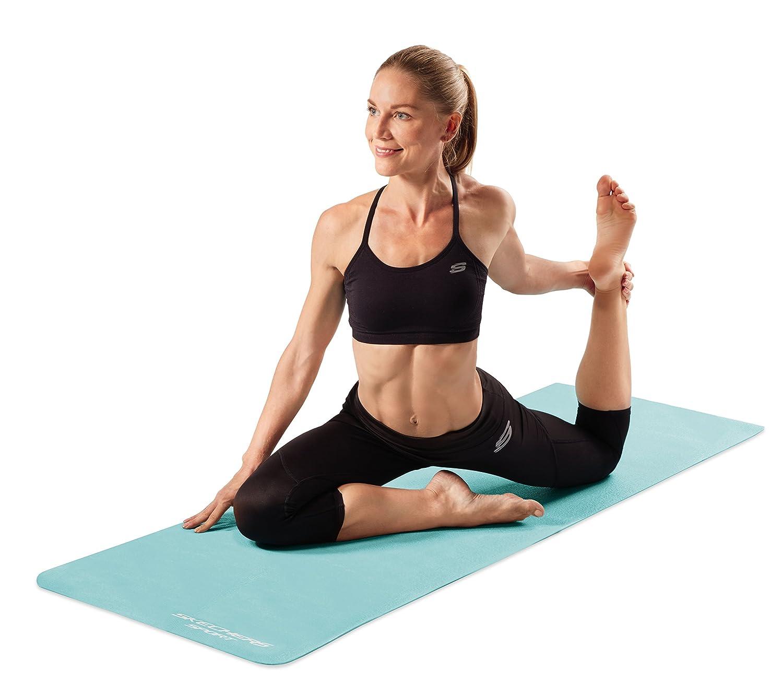 Skechers Sport Solid Colour PVC Esterilla para Yoga, Mujer ...