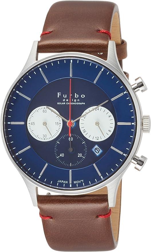 [フルボデザイン] 腕時計 F751-SNVBR メンズ ブラウン