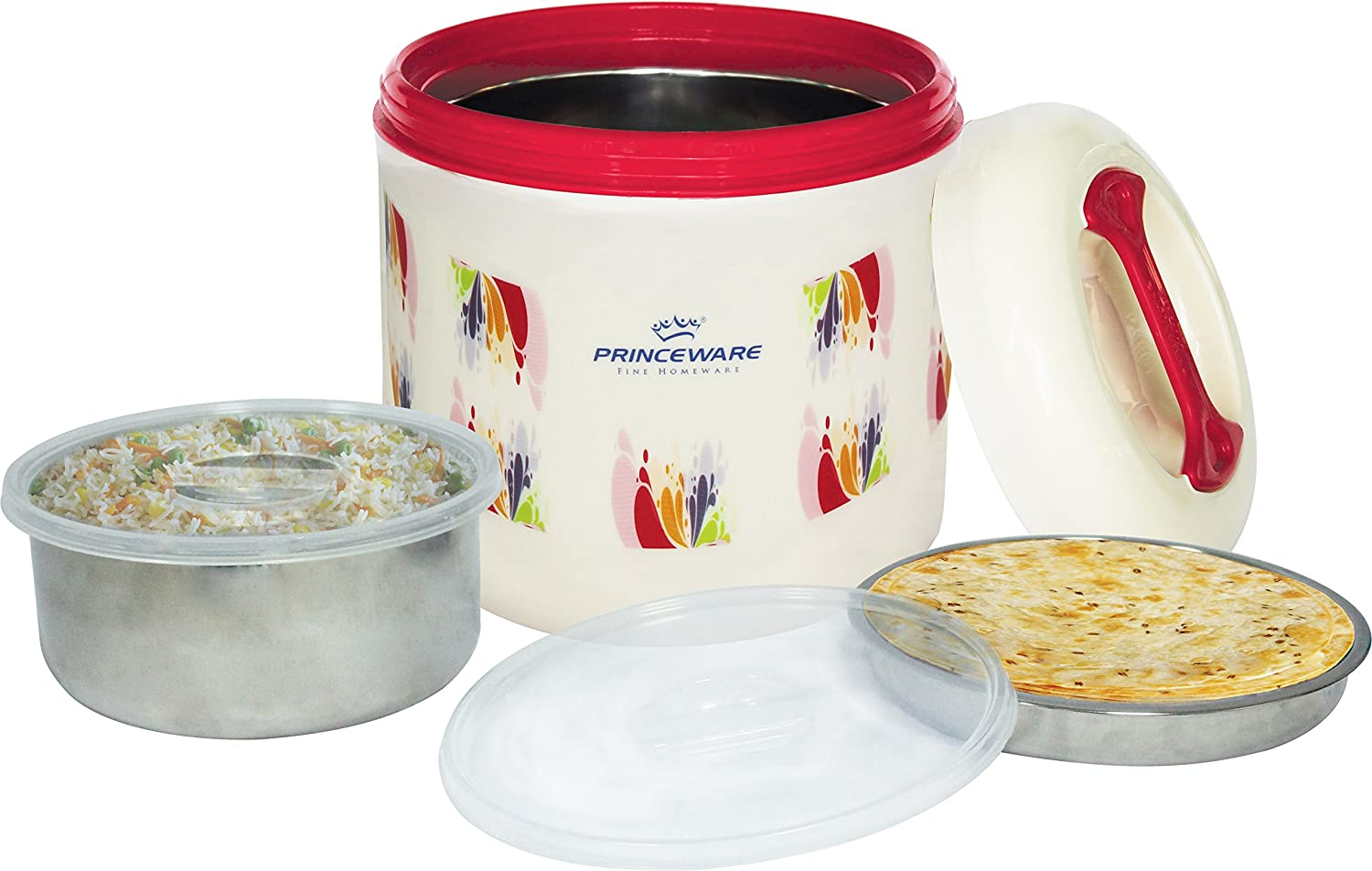Princeware Jupiter Plastic Hot Pot, 4.6 Litres, Assorted