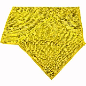 Juego de 2 o 3 piezas de alfombras de baño de WohnDirect, de 45 x