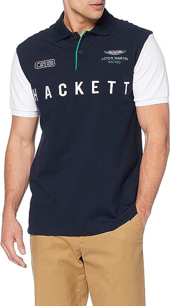 Hackett London Amr Mlt Wings Polo para Hombre: Amazon.es: Ropa y accesorios