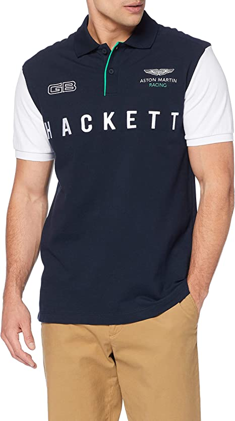 Hackett London Amr Mlt Wings Polo para Hombre: Amazon.es: Ropa y ...