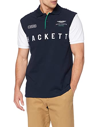 Hackett London Amr Mlt Wings Polo para Hombre: Amazon.es: Ropa y ...