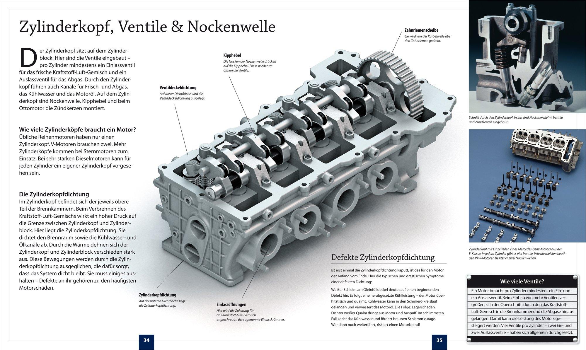 Franzis 65275-9 Lernpaket 4-Zylinder Motor als Bausatz: Amazon.de ...