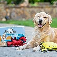 BoxDog - 4 Giant Seasonal Dog Boxes per Year Filled With Handmade Treats, Vegan Skincare, Dog Toys, Gear &