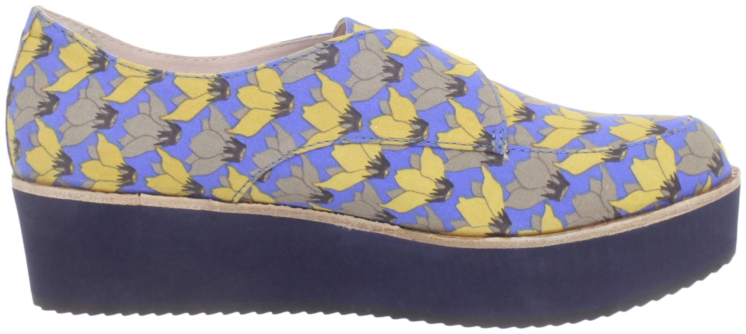 Bass Loves Rachel Antonoff Women's Fleur Loafer, Blue Floral, 6 M US by Bass Loves Rachel Antonoff (Image #6)
