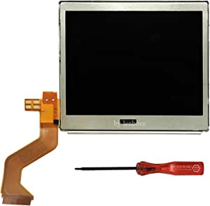 Lenboes Original Top Upper LCD Screen Display Replacement for Nintendo DS Lite Dsl NDSL with Opening Tool