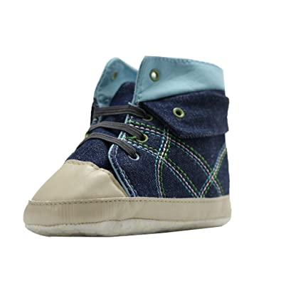 Abdc Kids Baby Boys Blue First Walking Shoes