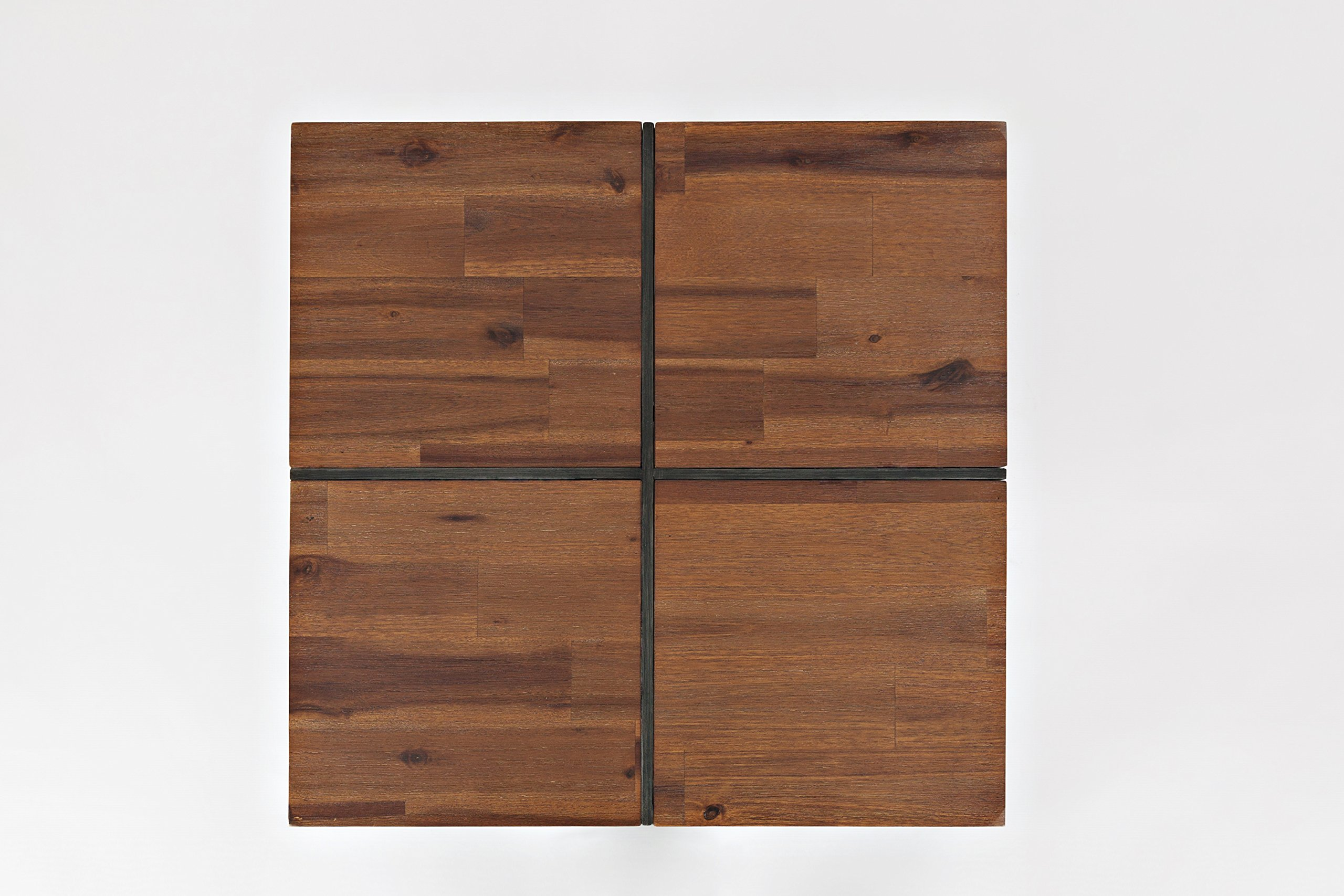 Jofran: 1660-6, Studio 16, Floating End Table, 24''W X 24''D X 24''H, Studio 16 Finish, (Set of 1)