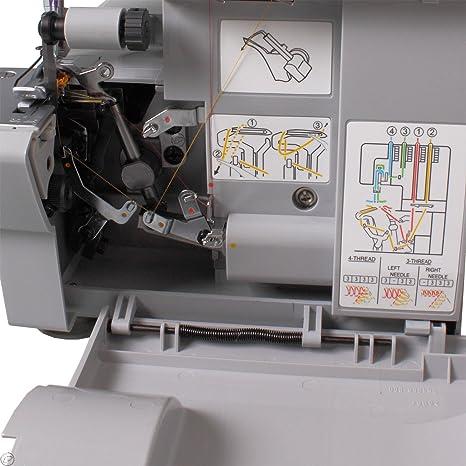 SINGER Heavy Duty 854 Overlock-máquina de coser: Amazon.es: Hogar