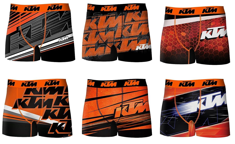 KTM Herren Boxershort Pack De 6 Act4