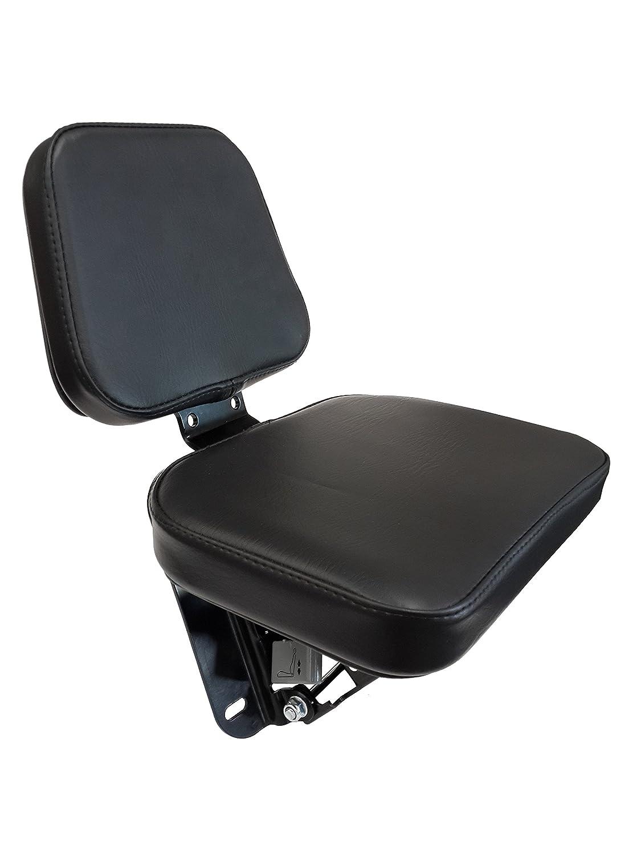 Beifahrersitz Zetor PVC Schwarz Schlepper Traktor Sitz Notsitz Klappsitz NEU