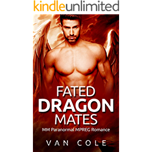 Fated Dragon Mates: MM Paranormal MPREG Romance