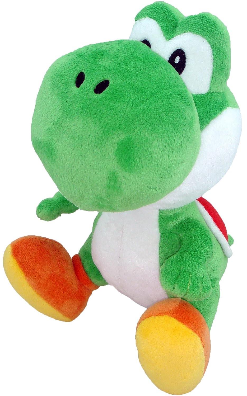Little Buddy Toys Nintendo Official Super Mario Green Yoshi Plush, 6