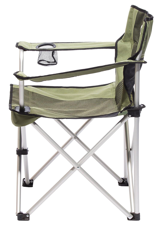 CAMPZ Aluminium Faltstuhl Olive 2019 Campingstuhl