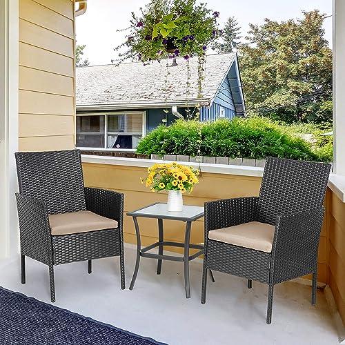 Vongrasig 3-Piece Porch Furniture Set