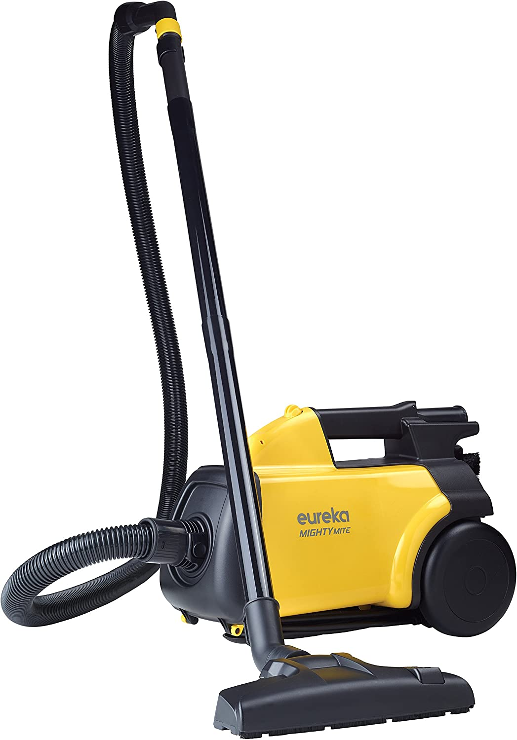 B00002N8CX Eureka Mighty Mite 3670G Corded Canister Vacuum Cleaner, Yellow, Pet, 3670g-yellow 81cv17ml2SL