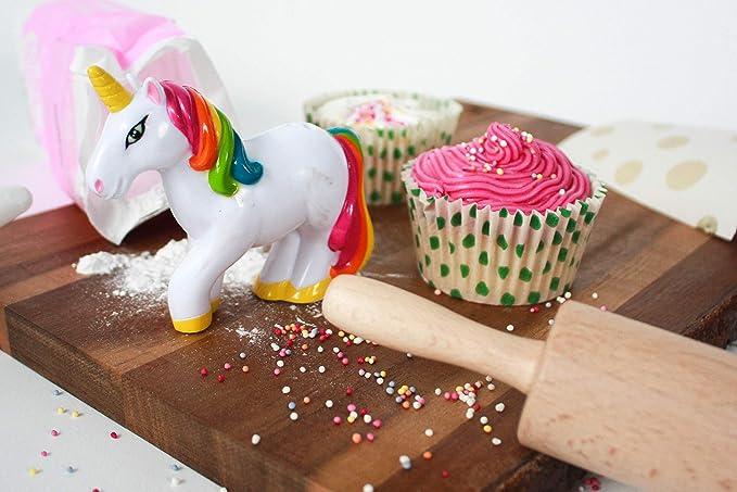 1 opinioni per Unicorno versazuccherini per decorare torte e cupcake