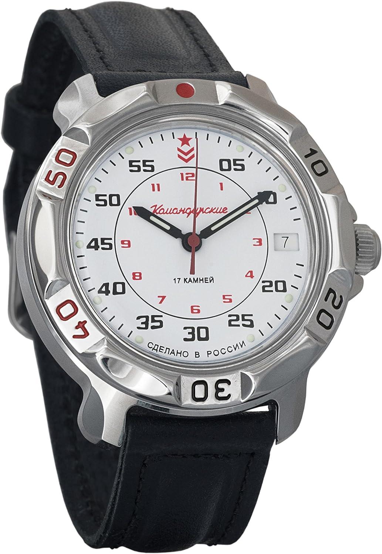 Vostok Komandirskie Army Mechanical Mens Wristwatch Military Komandirskie Case Wrist Watch 811171