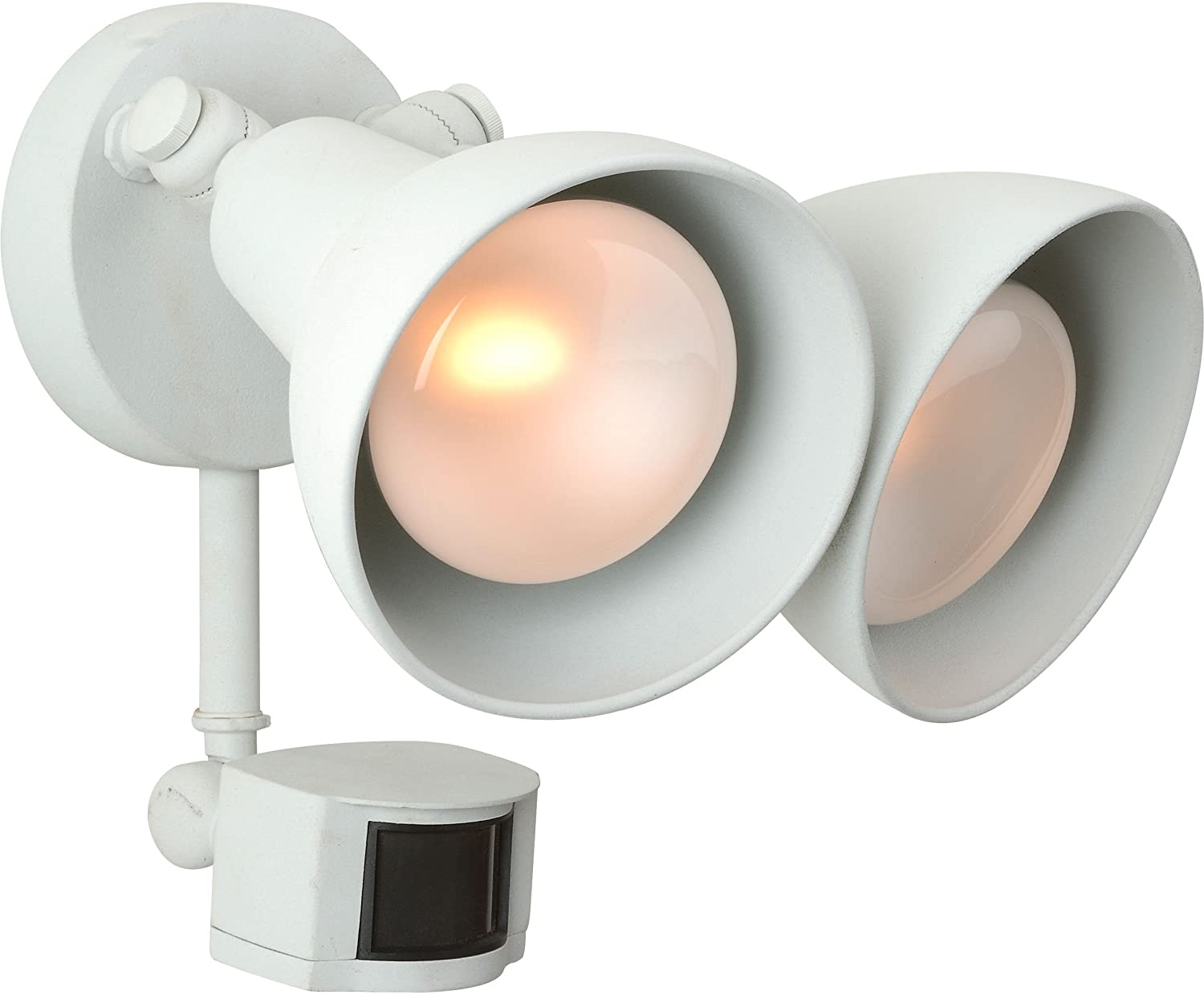 Craftmade Z402PM-05 Two Light Covered Flood with Motion Sensor