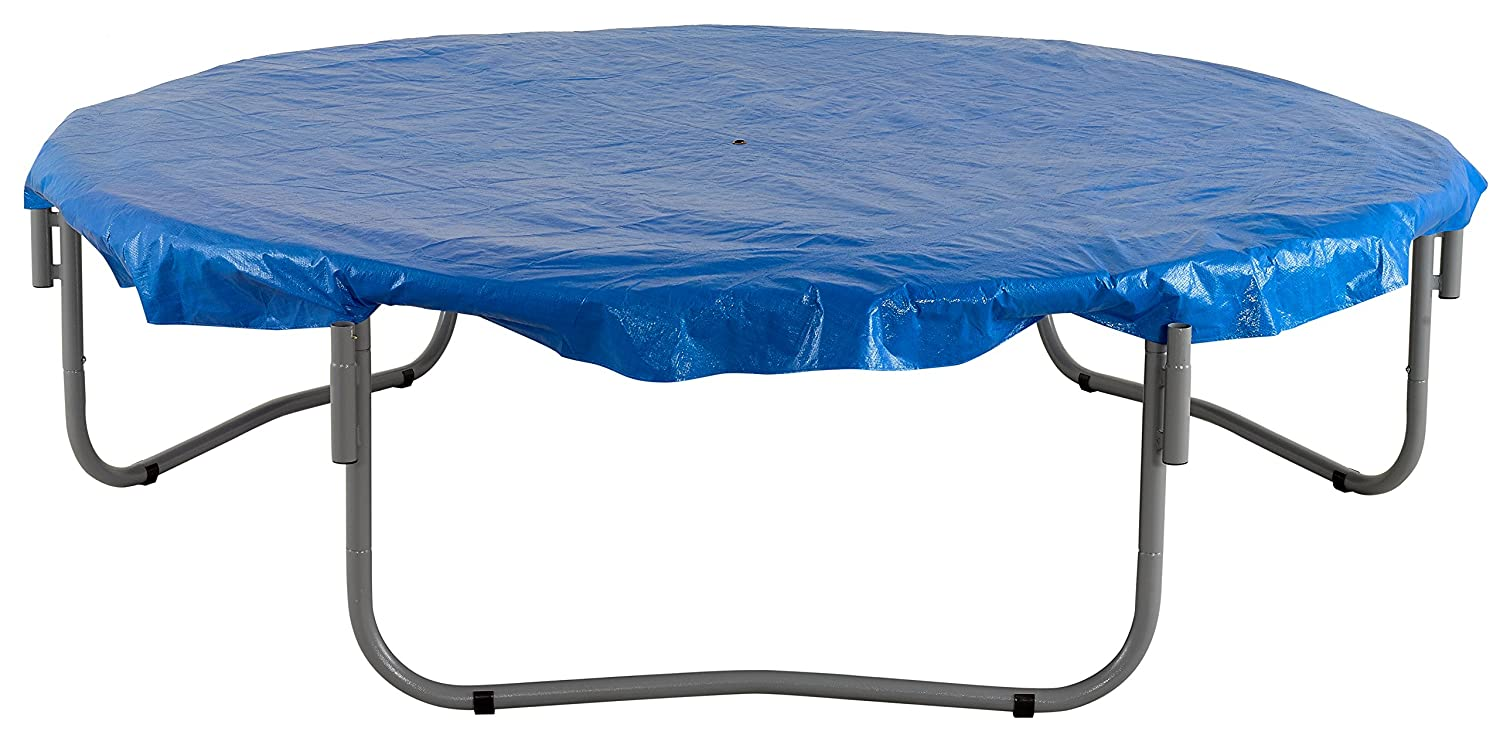 Weather /& Rain Cover Upper Bounce 11 Trampoline Protection Cover Round Trampoline Frames Black Fits for 11 FT