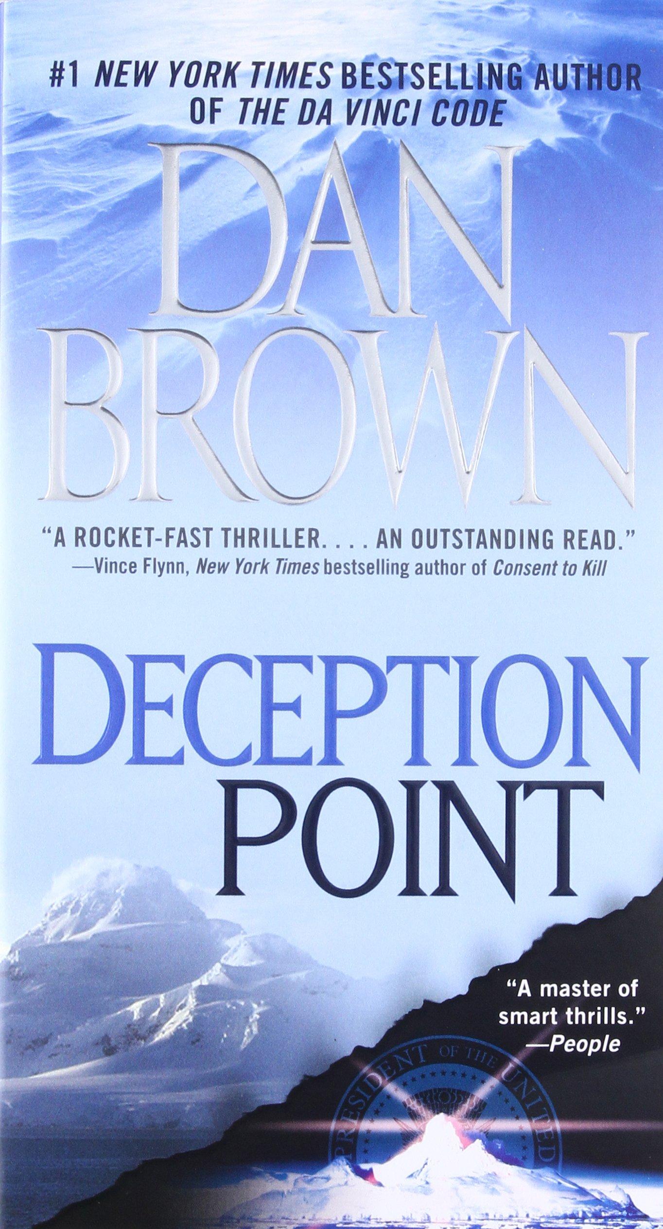Amazon deception point 9781416524809 dan brown books biocorpaavc Choice Image