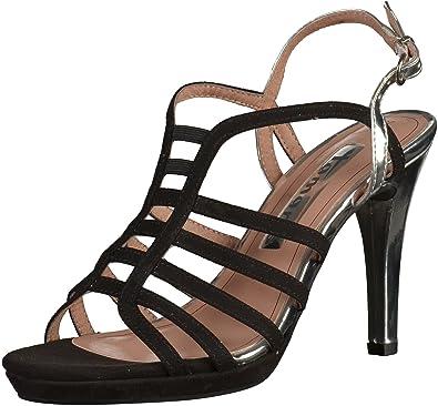 c416e1932c69 Tamaris Damen 28320 Slingback Sandalen  Amazon.de  Schuhe   Handtaschen