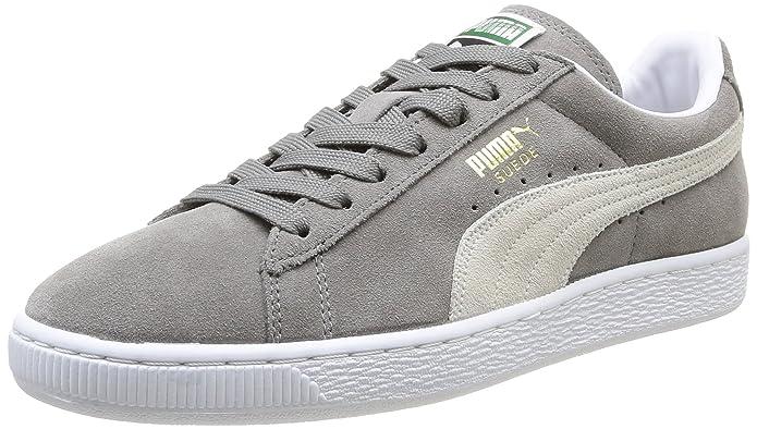 Puma Suede Classic+ Herren High Top Sneaker  43.5 EUBarbados Cherry/Peacoat