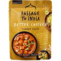 Passage Foods Passage to India Butter Chicken Simmer Sauce 375g, 375 g, Butter Chicken
