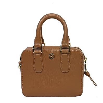 a830ff252f6 Tory burch landon shrunken boxy satchel leather clutch bag crossbody bark  jpg 395x395 Burch shrunken