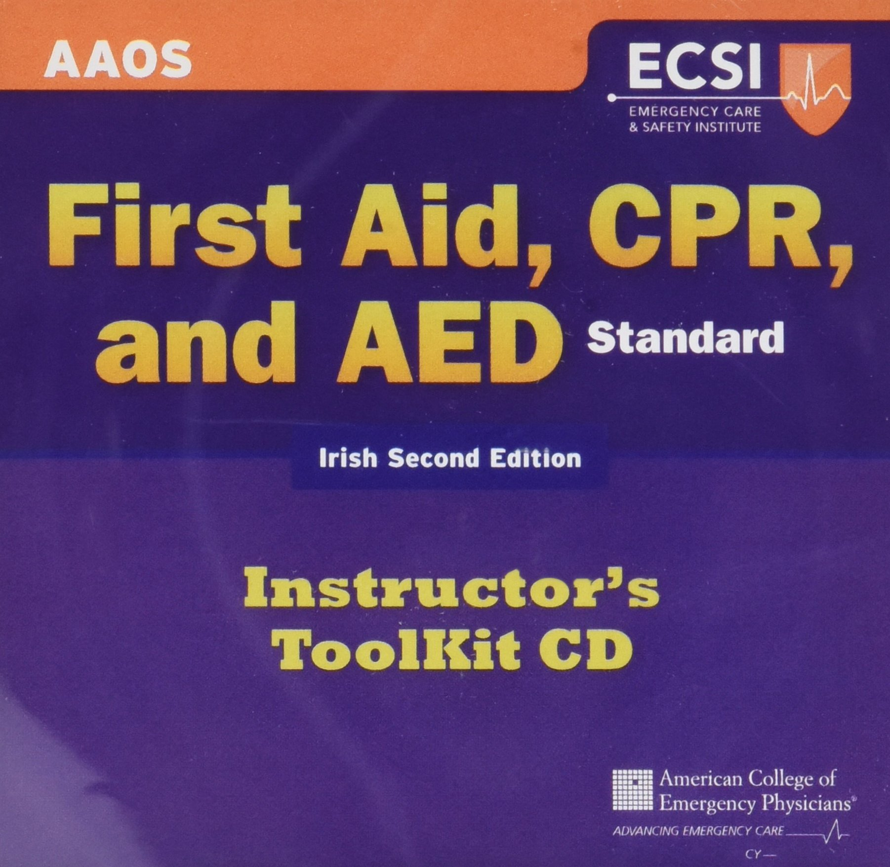 Irish Edition Standard First Aid, CPR, and AED, Instructor's Toolkit by Jones & Bartlett Learning