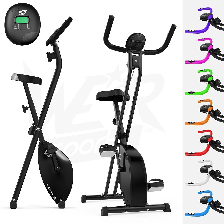 We R Sports Hometrainer, X-Bike, zusammenklappbar, magnetisch, für ...