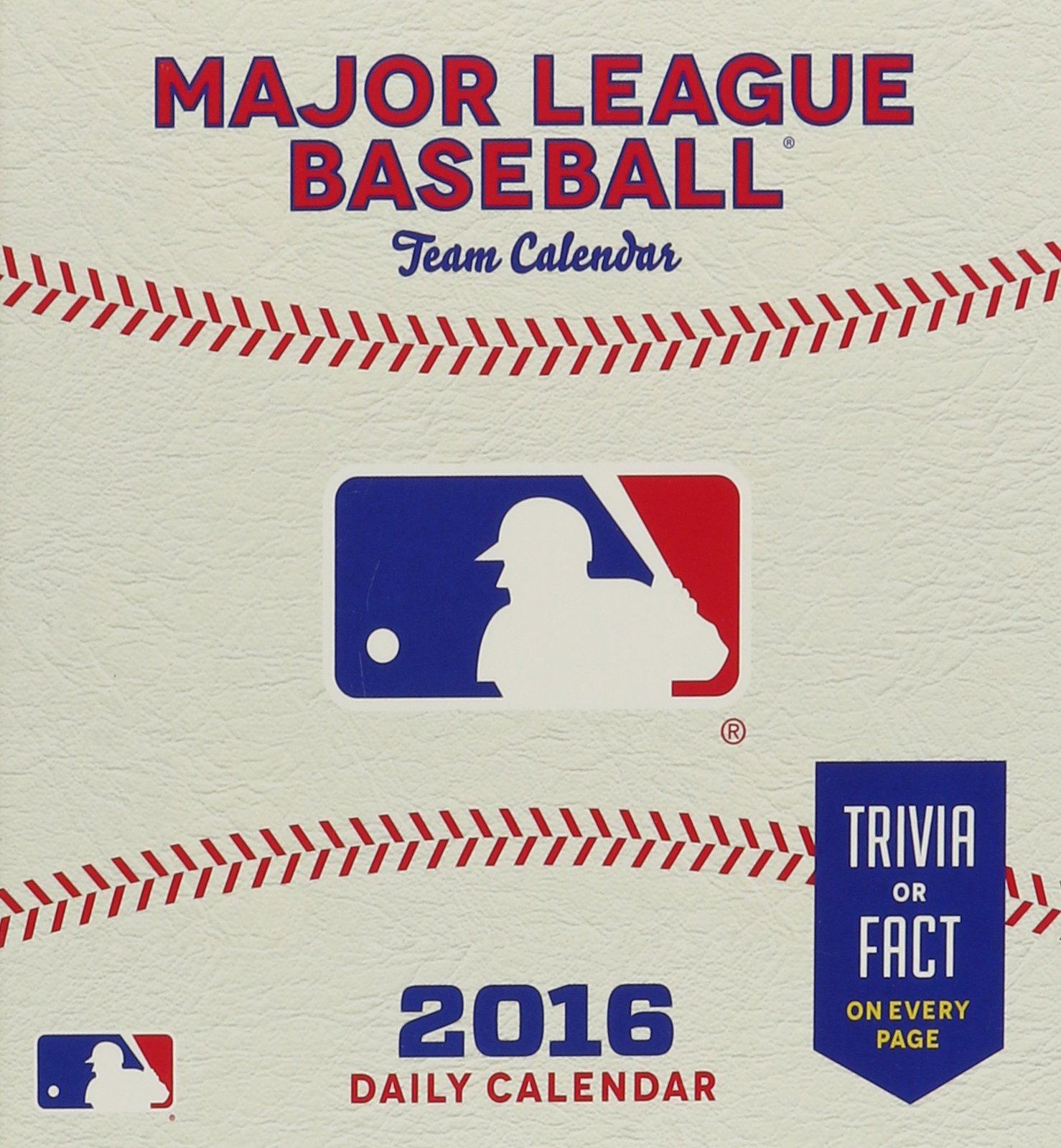 Major League Baseball Team 2016 Calendar pdf epub