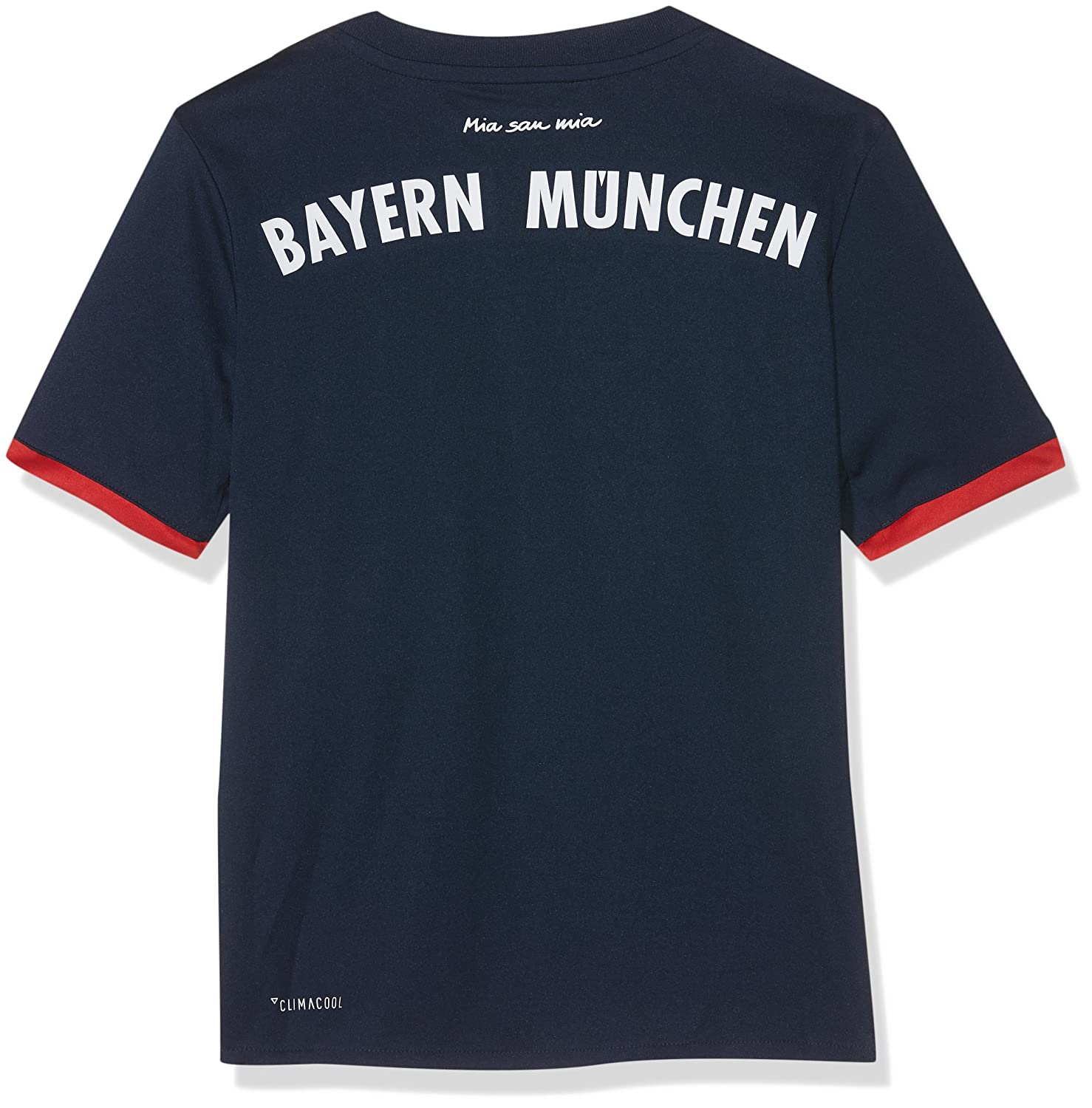 meet 9be6c 4e4e1 adidas 2017-2018 Bayern Munich Away Football Soccer T-Shirt Jersey (Kids)