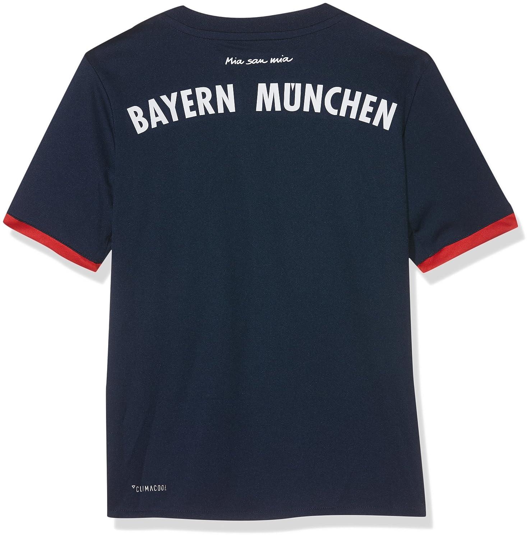 meet 6e977 17d97 adidas 2017-2018 Bayern Munich Away Football Soccer T-Shirt Jersey (Kids)