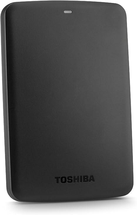 Amazon.com: Toshiba Canvio Basics 1TB Portable Hard Drive - Black (HDTB310XK3AA): Computers & Accessories