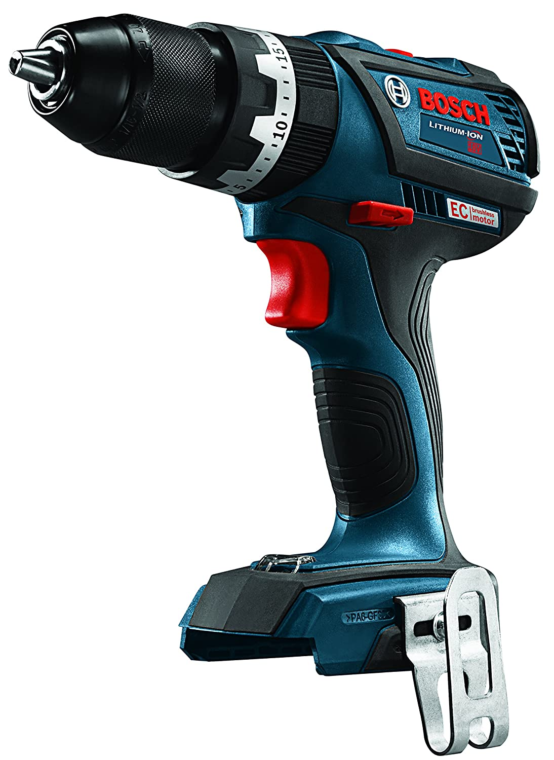 Bosch DDS183B 18V EC Brushless Compact Tough 1//2 In Drill//Driver