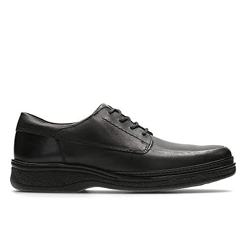 Clarks Stonehill Pace 7½ UK Black Leather: : Schuhe