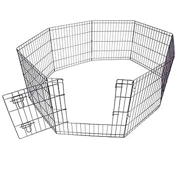 61 cm Maison Jardin Pliable pour Chien Chiot Lapin Clôture Enclos d ...